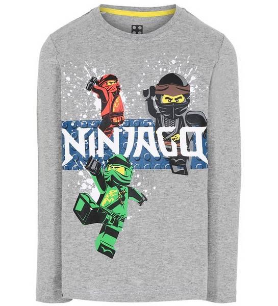 Bilde av Ninjago LS skjorte - Grey Melange