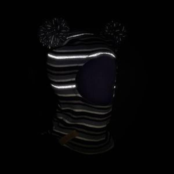 Bilde av Morild Fonn balaklava med refleks - Lillastripet