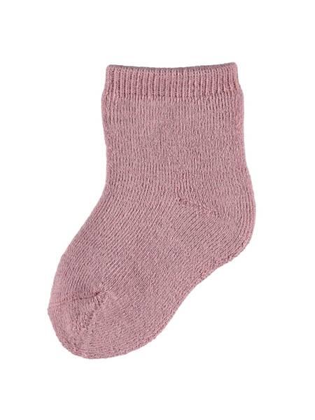 Bilde av NbfWaksi wool terry sock - Nostalgia Rose