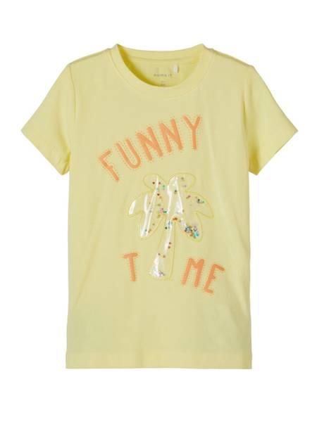 Bilde av NmfFefa ss T-skjorte - Yellow Pear