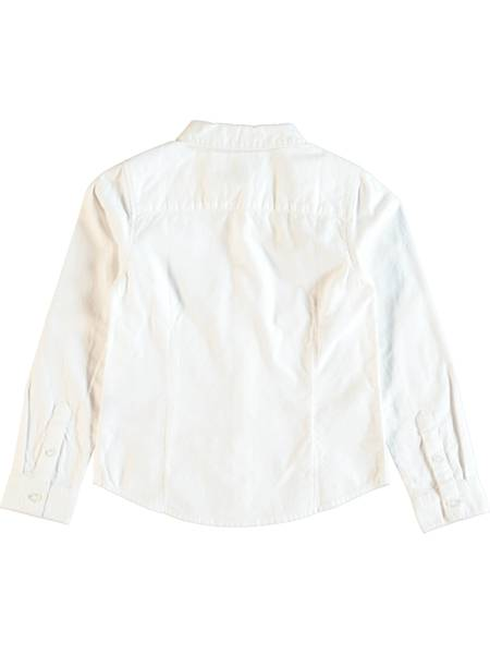 Bilde av Nitsahro ls shirt - Bright white