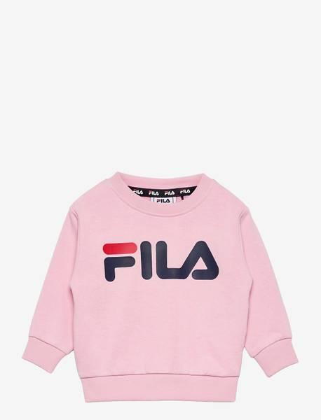 Bilde av FILA KIDS UNISEX TIM Logo Crew Shirt - Pink Mist