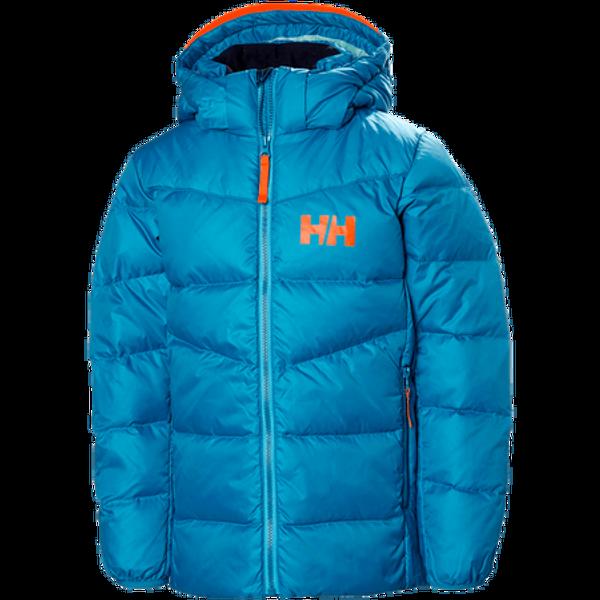 Bilde av HH JR Isfjord Down Mix Jacket - Blue wave
