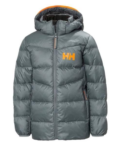 Bilde av HH Jr Isfjord Down Mix Jacket - Trooper