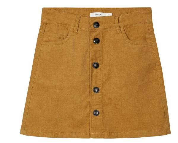 Bilde av Nkftaby cord a-shape skirt