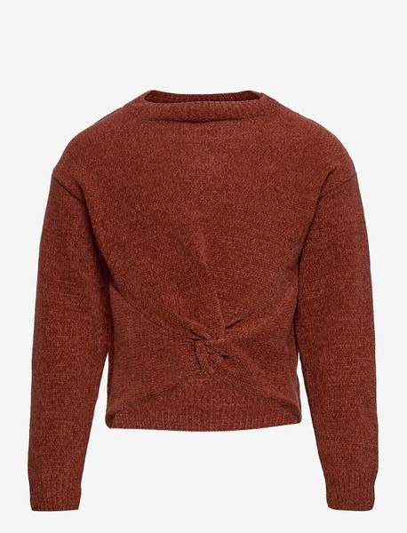 Bilde av KonRaja l/s pullover knit - Burnt Henna