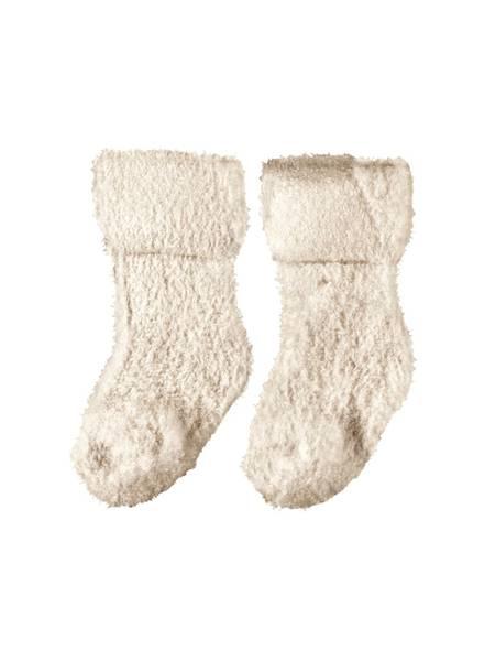 Bilde av NbfOlla terry fluffy sock - Whitecap Grey
