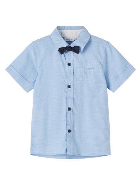 Bilde av NmmFugl ss shirt - Cashmere Blue