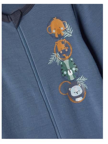 Bilde av NmmWillit Wool Suit - China Blue