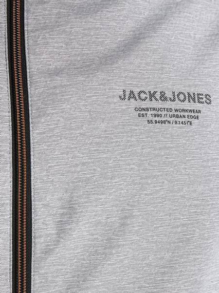Bilde av Jack&Jones jjeseam jacket hood jr - Light grey